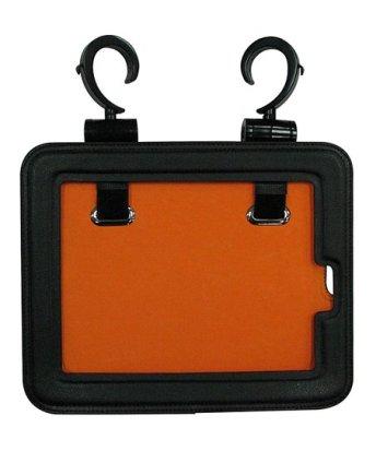 Cabinet hanging tablet holder