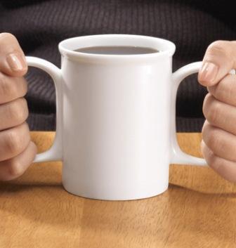 2 handed Dignity Mug