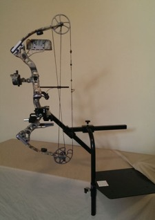 adapted bow stand